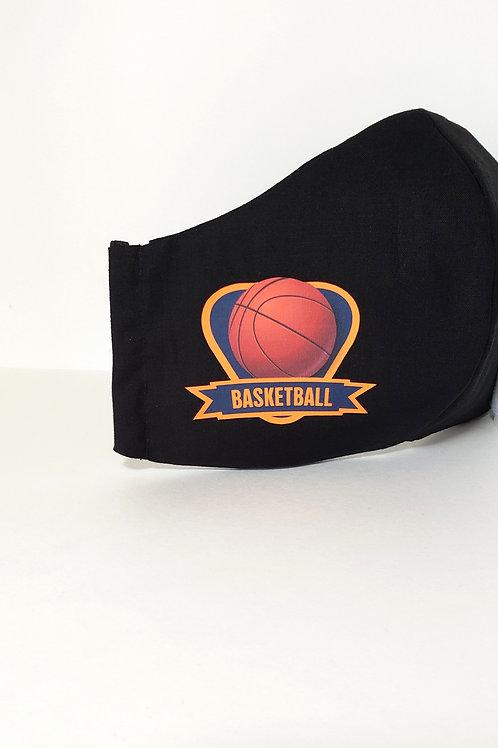 Basketball Mask .  Includes Polypropylene Insert.