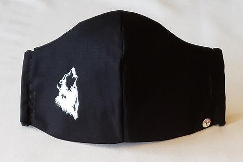 Wolf Mask. Includes Polypropylene Insert.