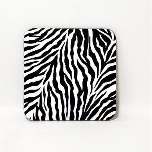 Zebra Style Coaster