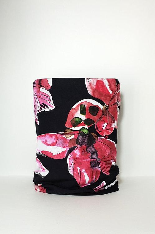 Floral Cylinder Mask