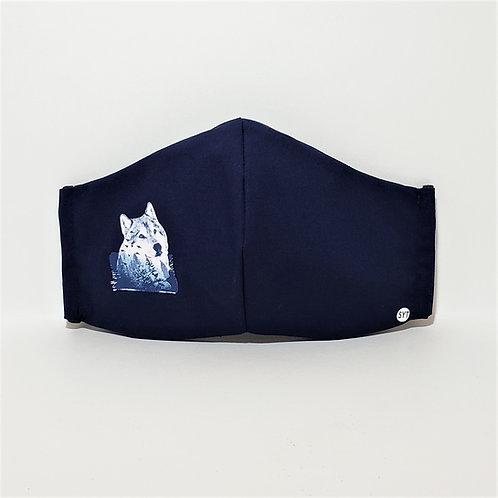 Mountain Wolf Mask.  Includes Polypropylene Insert.