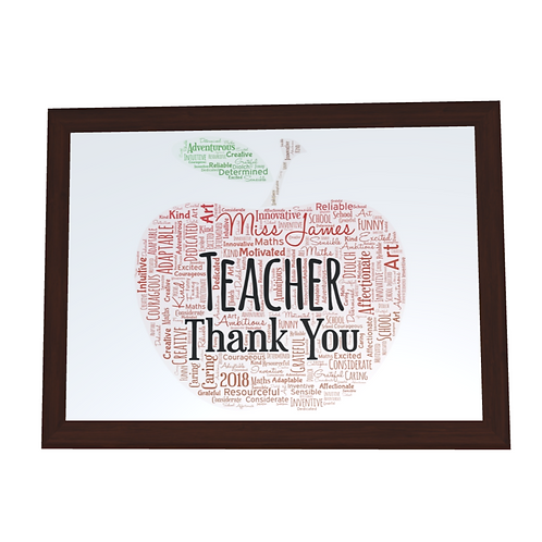 'Thank You' Typographical Print