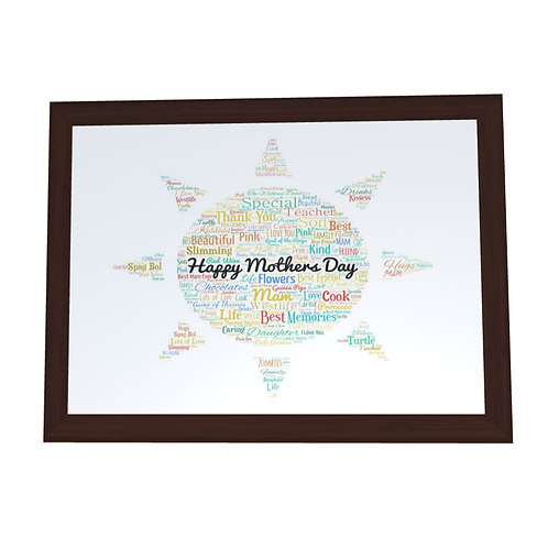 'Mothers Day' Typographical Print