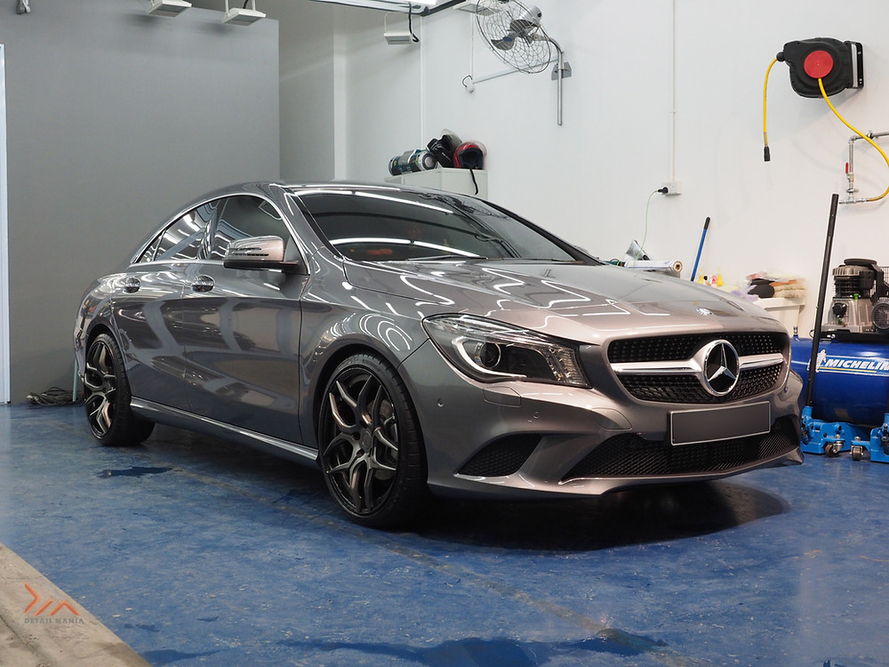 Paint protection coating in action