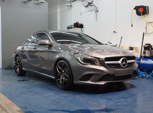 Mercedes CLA Twins - New Car Coating Systems