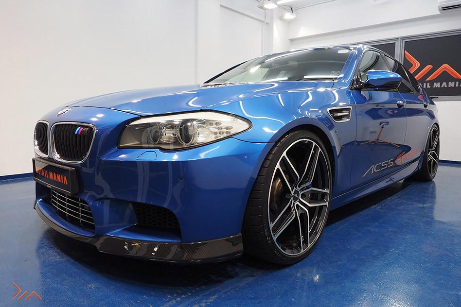 "BMW M5 With Skinz ""Glassjacket Pro"" Paint Protection Coating"