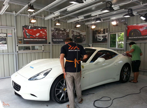 "Ferrari California - The Substance Of Style And Elegance With Skinz ""Glassjacket"" Glass Co"