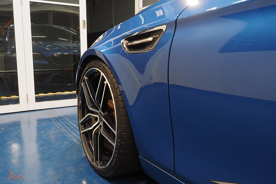 glass and ceramic coating for cars in Singapore