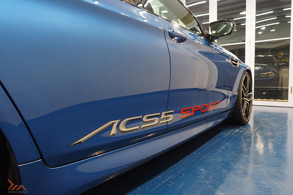 BMW M5 Paint Protection Coating With Detail Mania