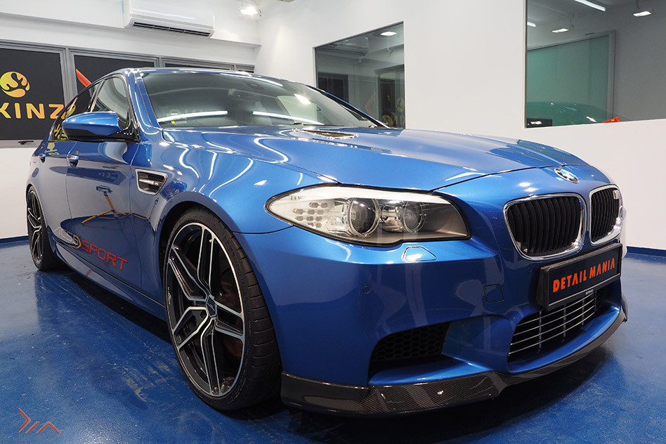 Paint Protection Coating For BMW M5