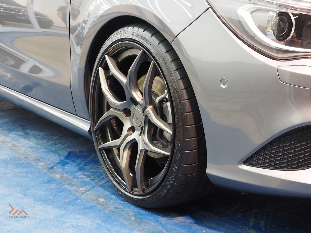 Paint Protection for Rims - 9H Hardness