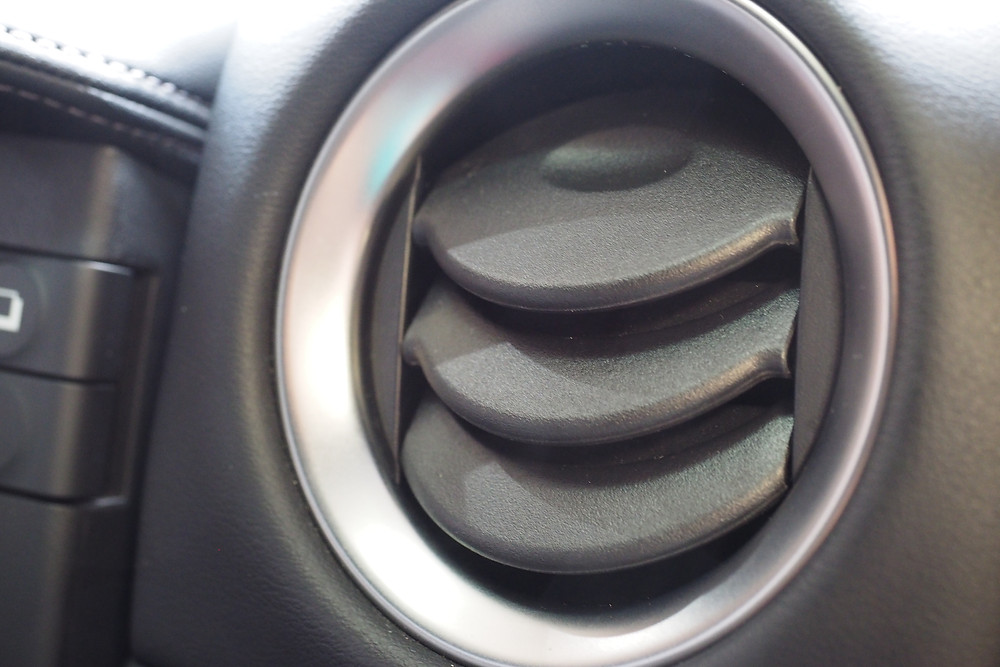 Clean Aircon Vent After Interior Detailing And Ozone Treatment