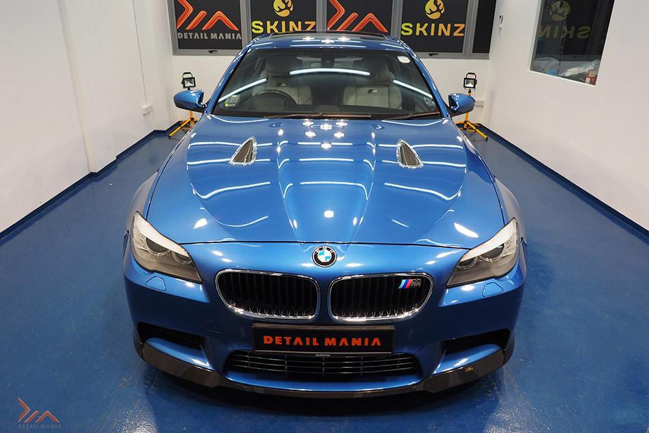 BMW M5 Car Detailing At Detail Mania Singapore
