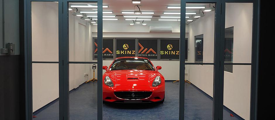 How to add fire to a flaming horse - Ferrari California