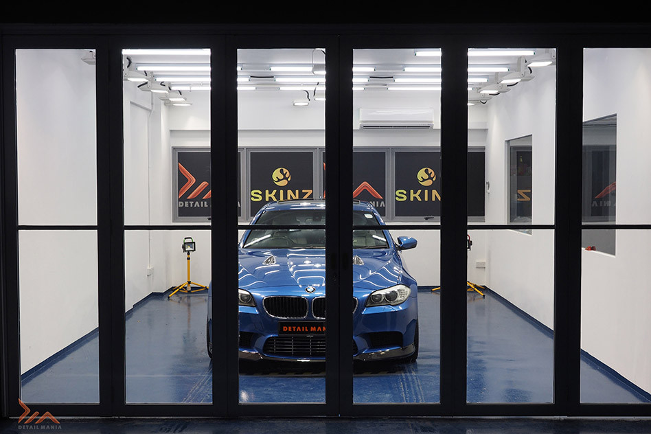 Car grooming and paint protection coating in Singapore
