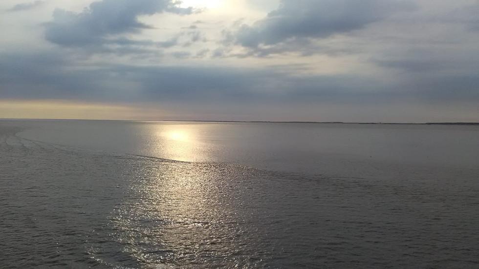 Mooie foto aan het water