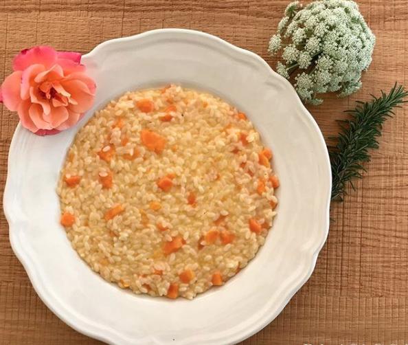 Risotto a base di carote