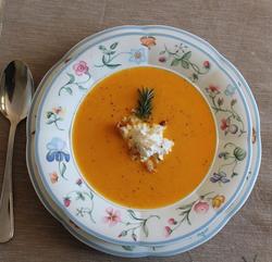 Cream of carrots