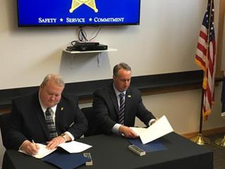 Statement of Sheriff Scott Jenkins in Signing the 287(g) Jail Enforcement Officer Memorandum of Agre