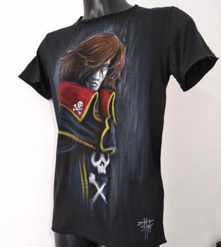 Capitan Harlock maglietta