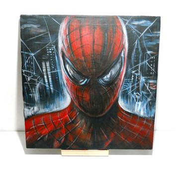 Spiderman_Acrylic_on_Camvas (5).JPG