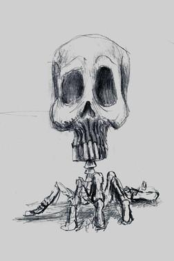 Skull Lamp