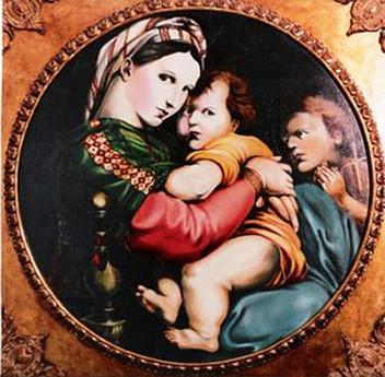 """Author copy """"La Madonna della seggiola"""""""
