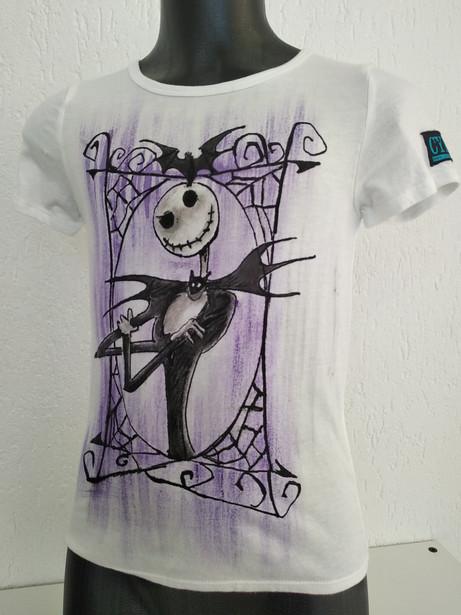 Nightmare Before Christmas t-shirt dipin