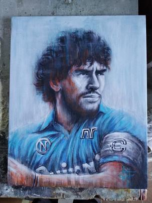 El màs grande Diego Maradona Acrilico su tela cm 50x60 (1).jpg