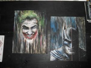 Batman_Joker_Wood