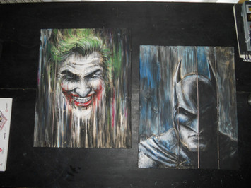 Batman_Joker_Wood