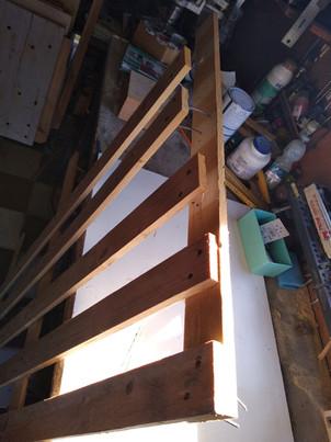 Legno riciclato_Supporto in legno