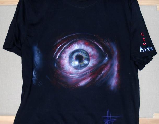 Resident Evil Handpainted T Shirt