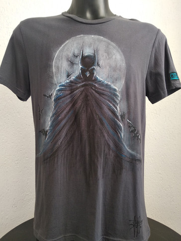 """Batman and the moon"""