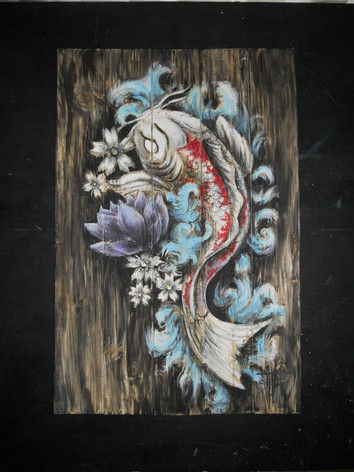 Carpa_Koi_Wood