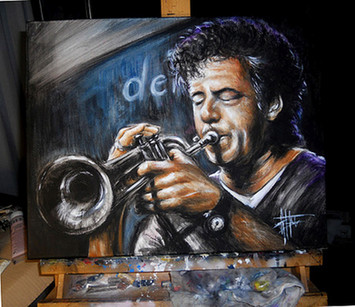 Trumpeter Acrilico u tela cm 40x50.jpg