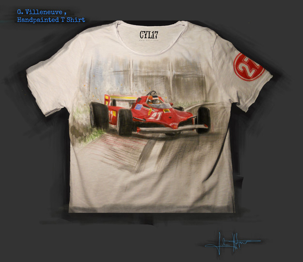 Villeneuve_Handpainted_T Shirt