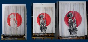 geisha warrior progress