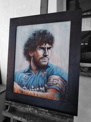 El màs grande Diego Maradona Acrilico su tela cm 50x60 (7).jpg