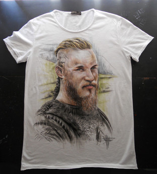 Viking_Handpainted_TShirt