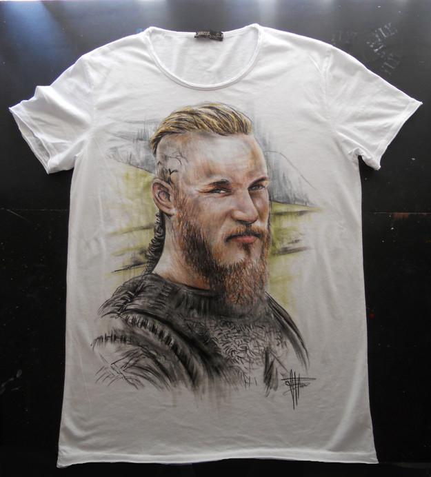 Viking_Handpainted_TShirt