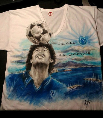 """""""Chi ama non dimentica"""" Diego Armando Maradona"""