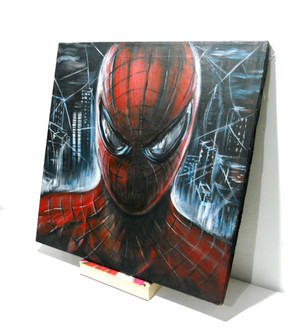 Spiderman_Acrylic_on_Camvas (4).JPG