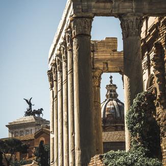 Rome Framed