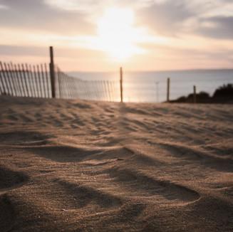 Beach Dune Sunset