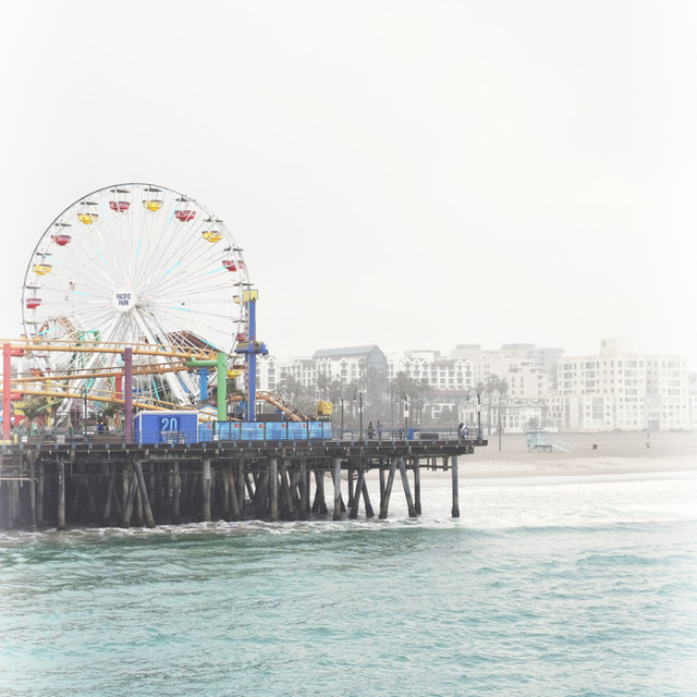 Ferris Wheel Santa Monica