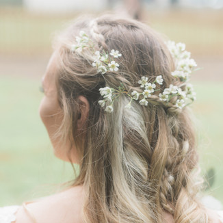 Wedding Day Hair and Flowers Photography