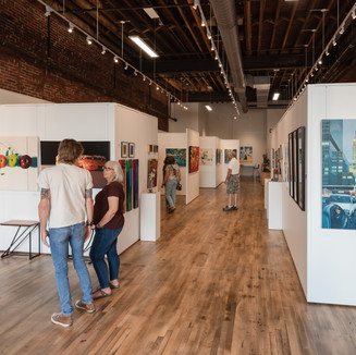 Interior of District Arts Museum Photography