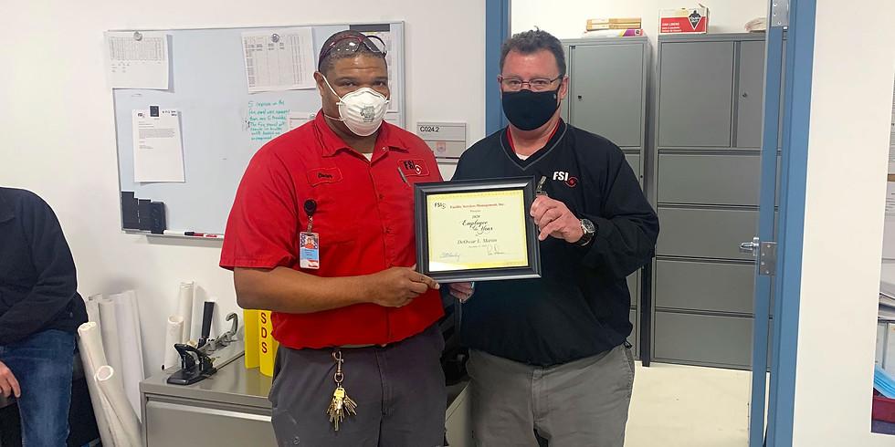 DeOscar Martin named FSI's Employee of the Year