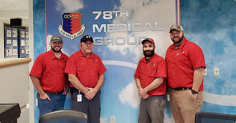 FSI operations and maintenance job crew at 78th medical group
